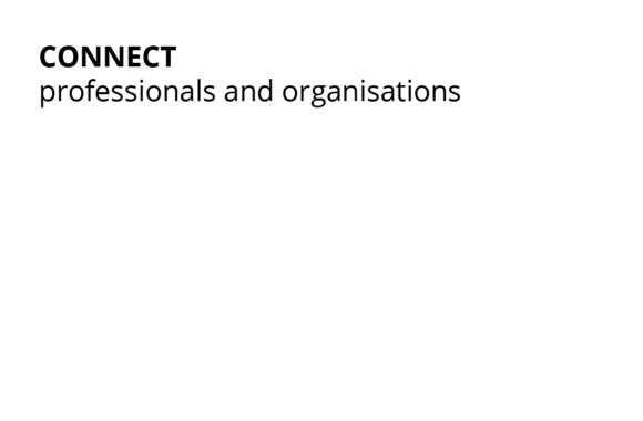 Connect professionals and organisations
