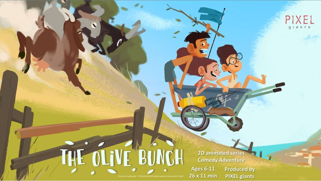 The Olive Bunch annecy poster caa cyprus animation association